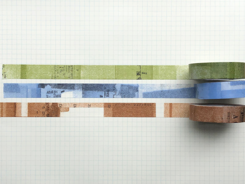 Classiky - Yoko Inoue Collage Masking Tape