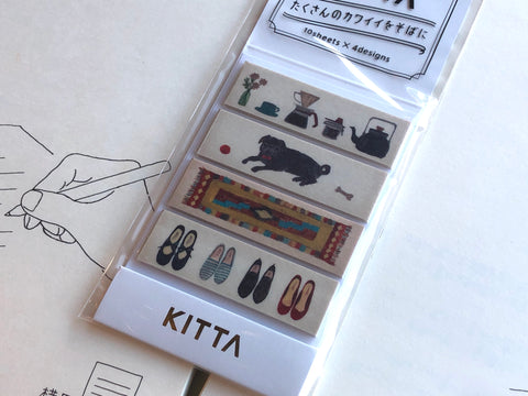 Kitta Portable Washi Tape - Life
