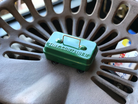 Hightide Tiny Container - Green