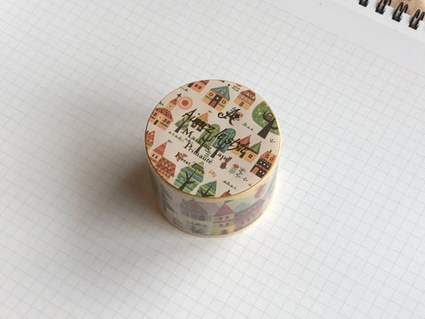 Masking Tape Washi - Forest Town