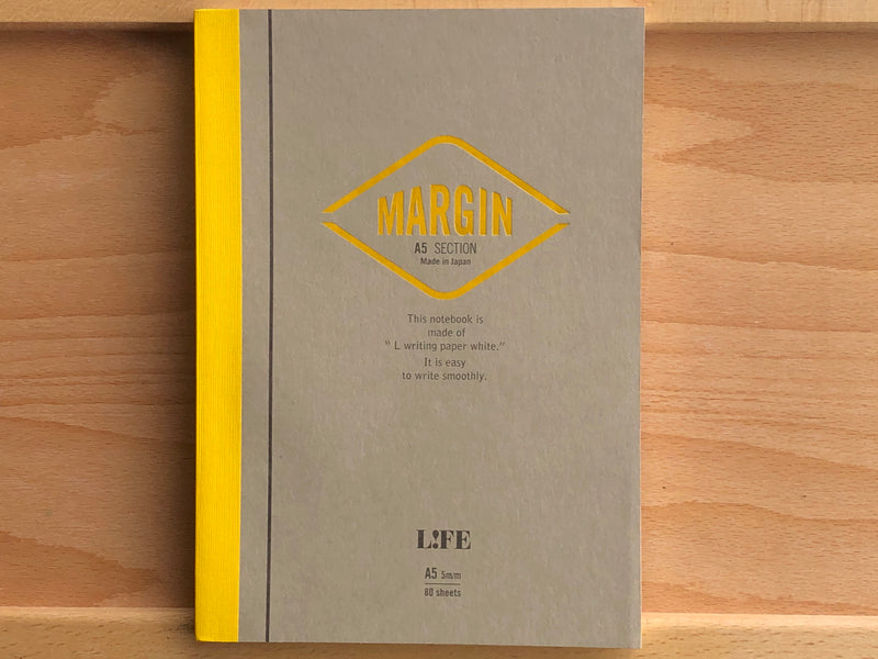 Life Margin Notebook - A5 - Section