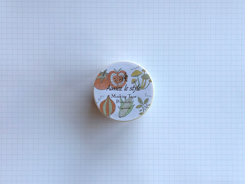 Masking Tape Washi - Vegetable