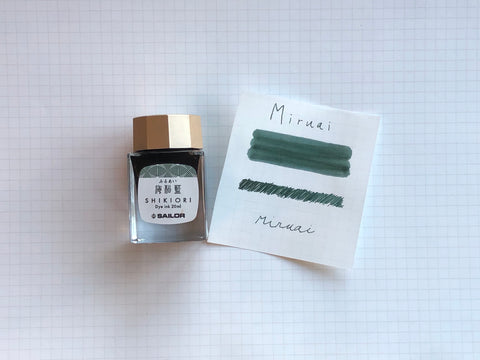Sailor Shikiori Miruai Ink - 20mL Bottle