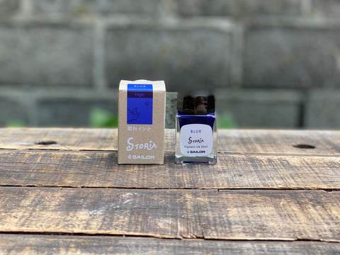 Sailor Storia Pigment Ink - 20mL - Night Blue
