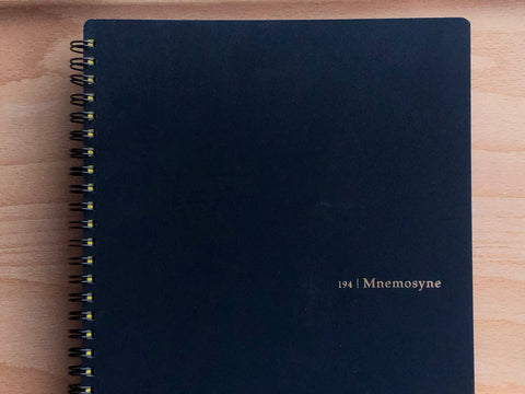 Mnemosyne Memo Notebook - B5 - Lined