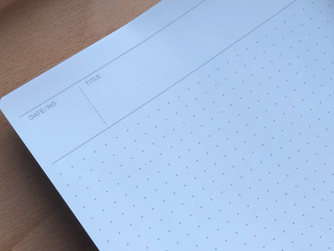 Mnemosyne Notebook - A5 - Dot Grid