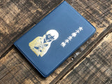 Classiky - Nancy Seki Girl Student Notebook - Dark Blue
