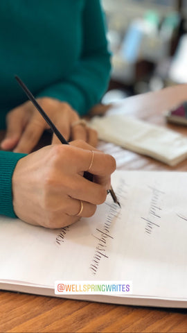 Pointed Pen Calligraphy Workshop - 4/27 Saturday Morning
