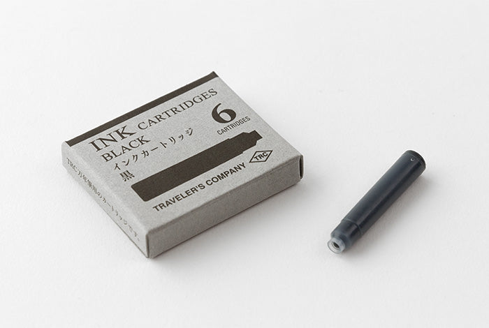 TRC Brass Fountain Pen Cartridge - Black