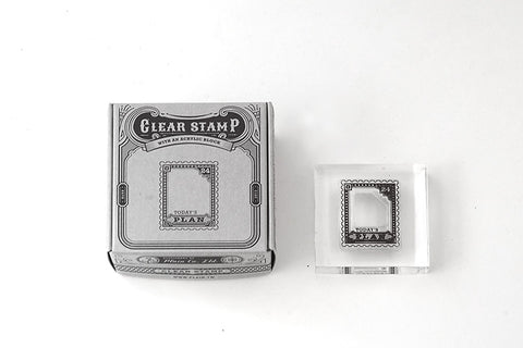 Plain Stationery Clear Stamp - Today's Stamp Frame