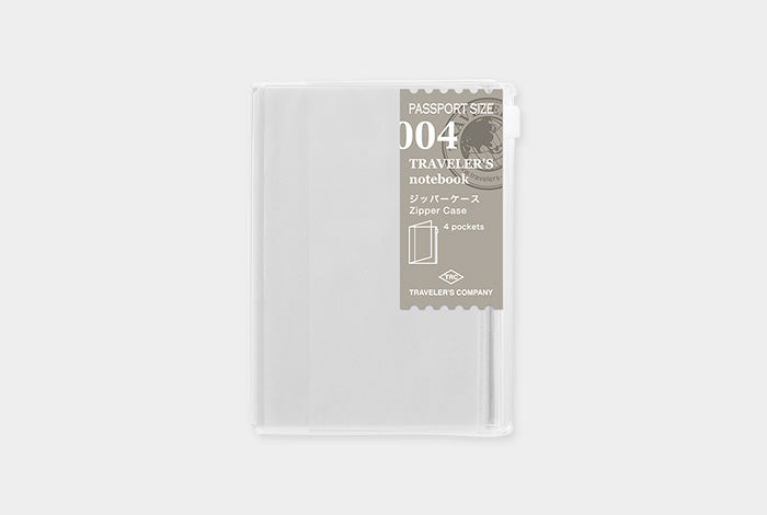 Passport Size Refill - Zipper Case - 004