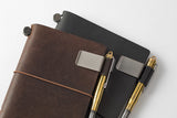 Traveler's Notebook Pen Holder - Medium - Brown