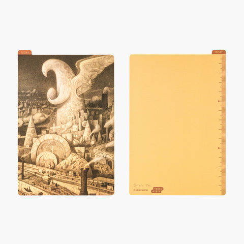 Hobonichi Pencil Board - A6 - Arrival by Shaun Tan
