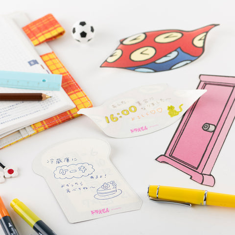 Hobonichi Doraemon's Secret 4D Gadget Pocket - Memo Pad