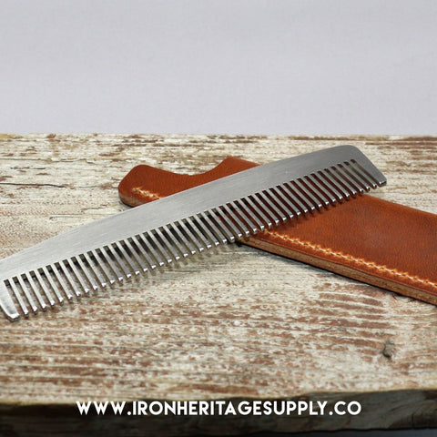 """Model No. 3 Gift Set - English Tan"" by Chicago Comb Co."