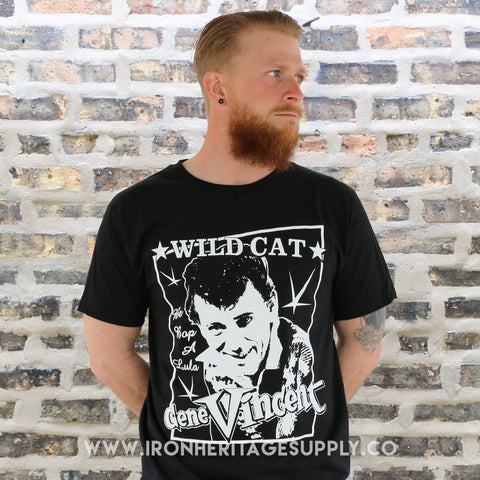 "Gene Vincent ""Wild Cat"" by Full Breach 77"