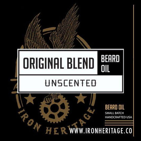 """Original Blend (Unscented)"" Beard Oil by Iron Heritage"