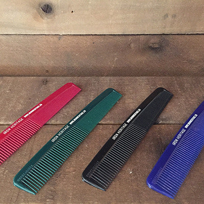 """7 Inch Unbreakable Combs"" by Iron Heritage Grooming Co."
