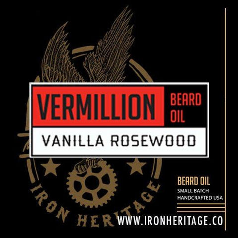 """Vermillion"" Beard Oil by Iron Heritage"