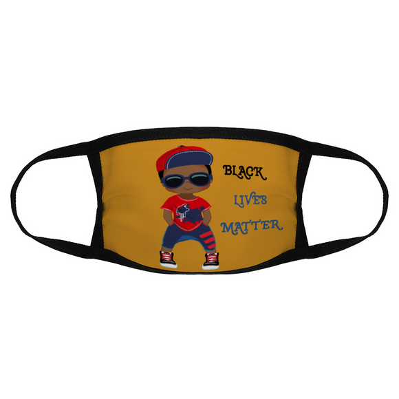 Boys Black Lives Matter Face Mask / Woody Epps Gift Shop