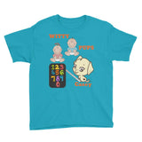 Children Unisex Witty Pups Casey Youth Short Sleeve T-Shirt / Woody Epps Gift Shop