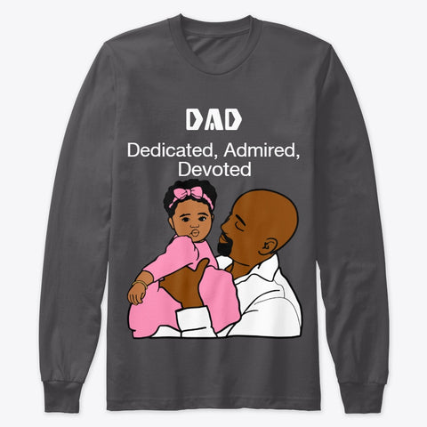 DAD Long Sleeve T - Shirt / Woody Epps Gift Shop