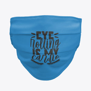 Women Eye Rolling Face Mask / Woody Epps Gift Shop