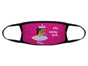 Little Diva Face Mask / Woody Epps Gift Shop