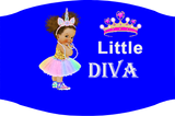 Little Diva Caucasian Face Mask / Woody Epps Gift Shop