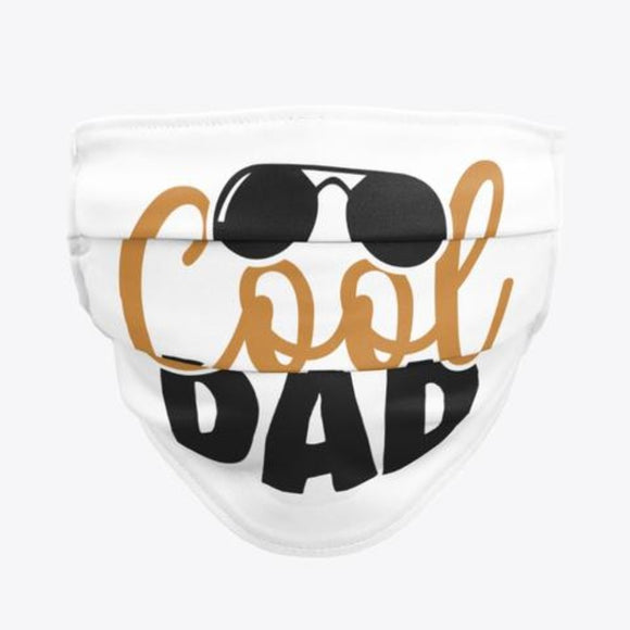 Men Face Masks Cool Dad Blue / Woody Epps Gift Shop