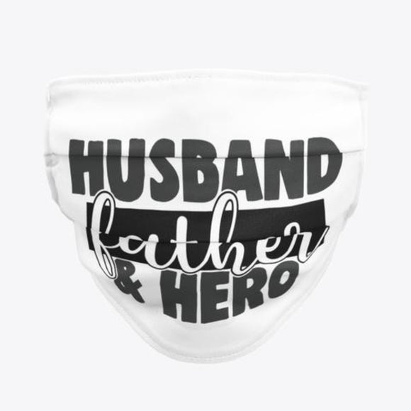 Men Husband Father Hero Face Mask / Woody Epps Gift Shop