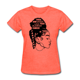 Women's T-Shirts - heather coral