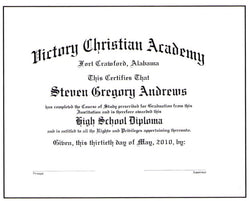 Deluxe Academic Diploma #01