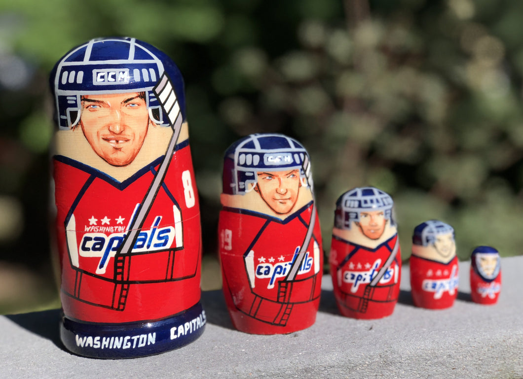 Washington Capitals Nesting Dolls