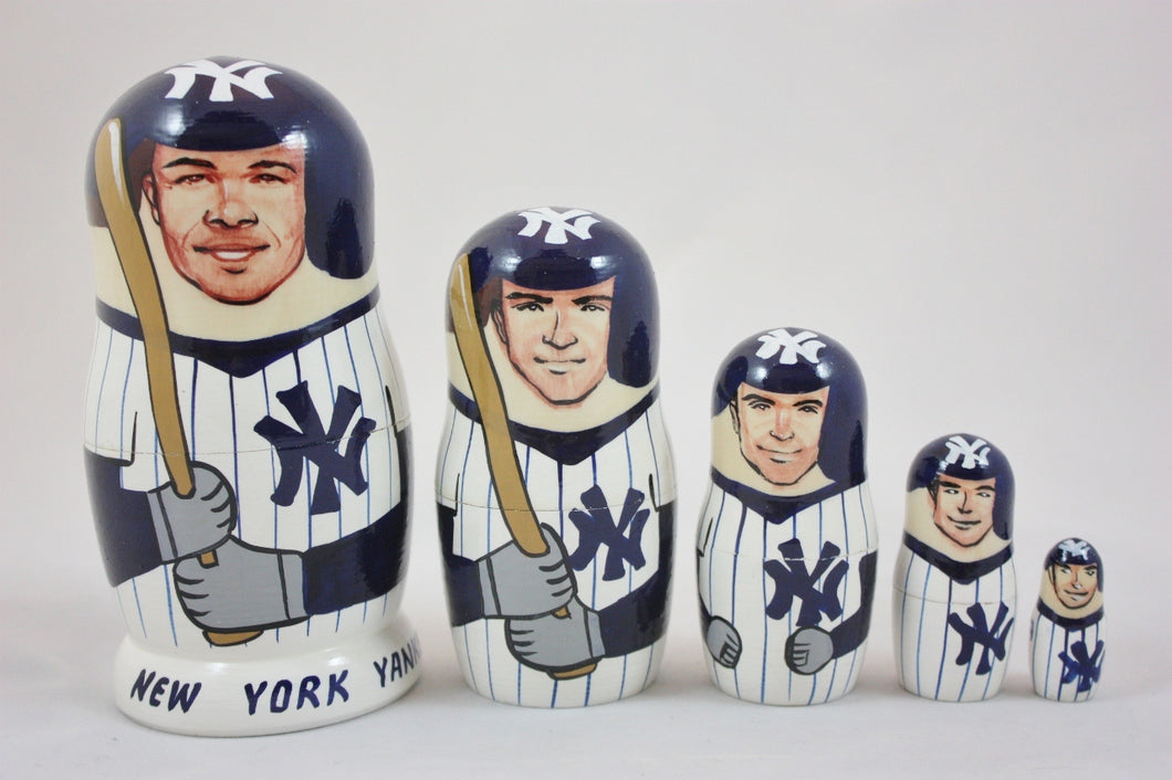 New York Yankees Nesting Dolls