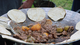 Discada Cooking - Carne Asada Tacos on the Plow Disc
