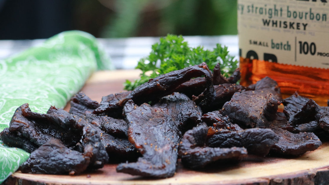 Bourbon-Molasses Beef Jerky