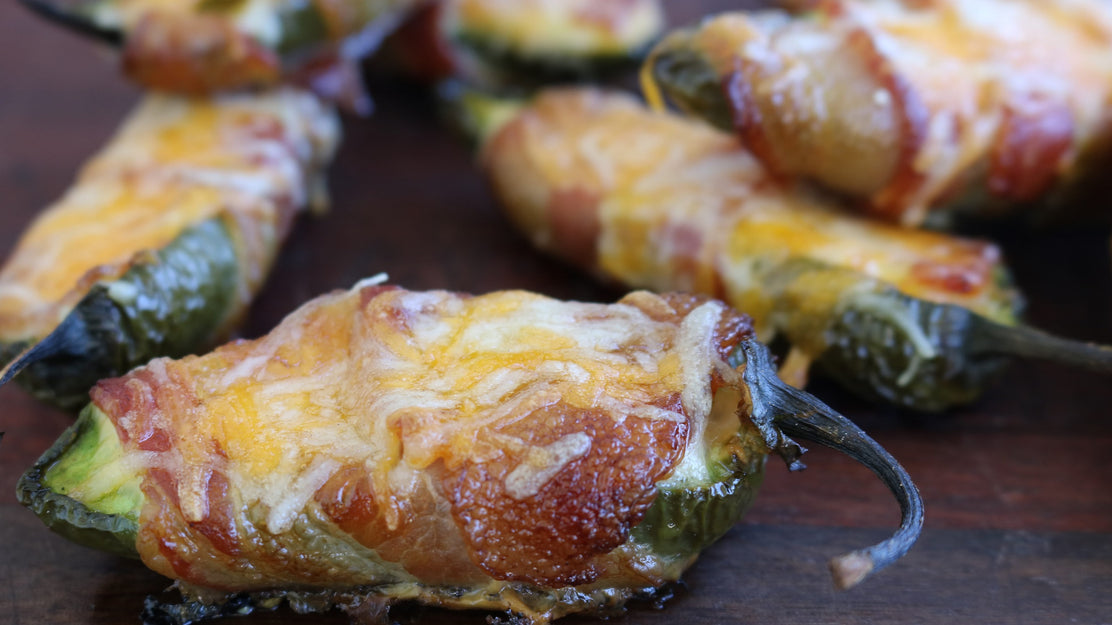 Smoked Breakfast Jalapeno Poppers