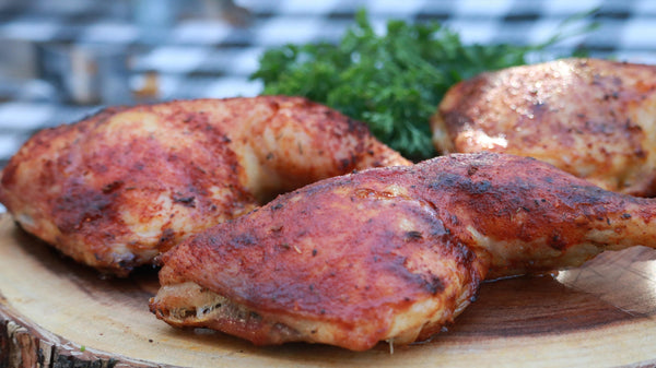 Garlic & Paprika Chicken Quarters in the Big Easy Oil-Less Fryer