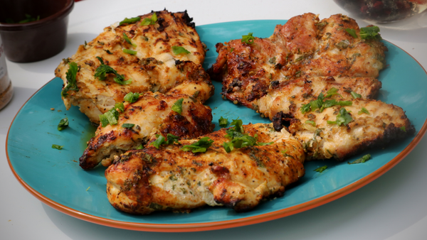 Grilled Yogurt Marinated Chicken