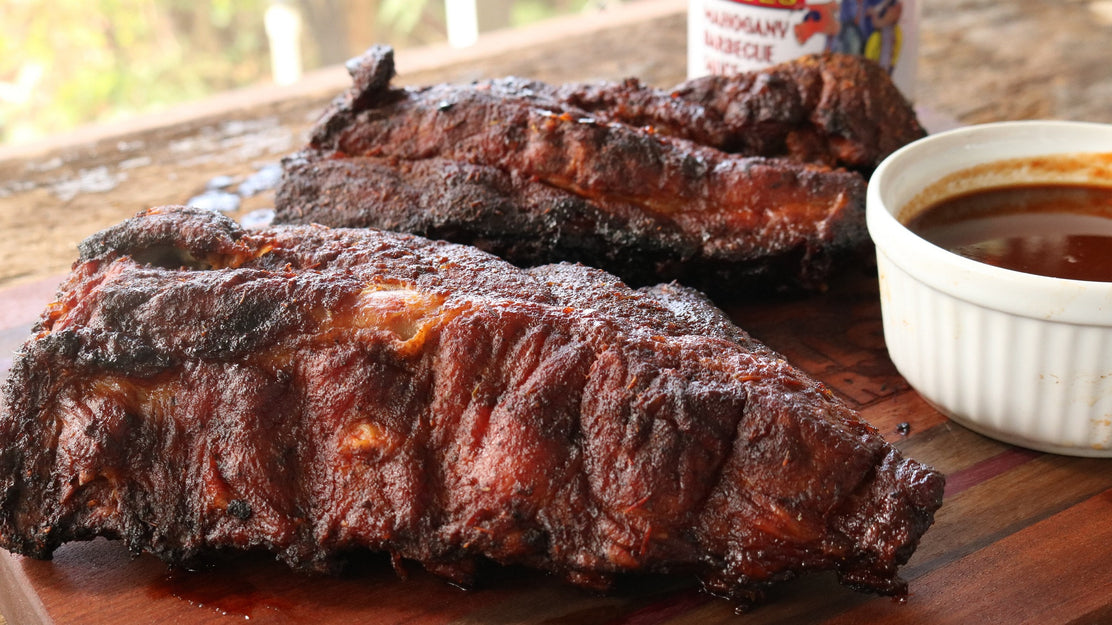 Hot & Fast Mahogany Ribs in Big Easy Oil Less Fryer