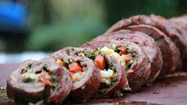 Grilled Stuffed Flank Steak (a.k.a. Matambre)