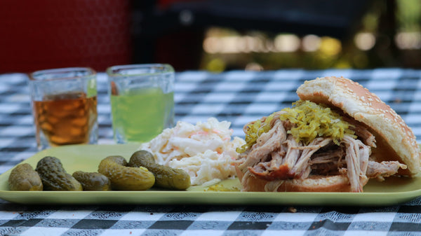 Pickleback Pulled Pork in the Big Easy Oil-Less Fryer