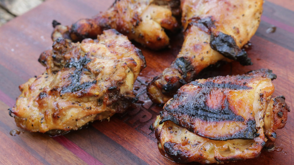 Grilled Vinegar Chicken