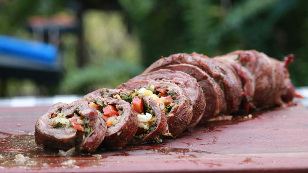 Stuffed Flank Steak Recipe (a.k.a. Argentine Matambre Flank Steak)