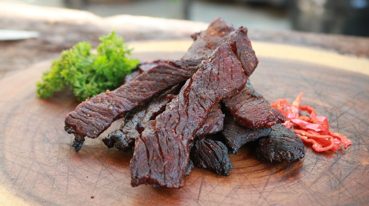 Smoked Sweet & Spicy Beef Jerky