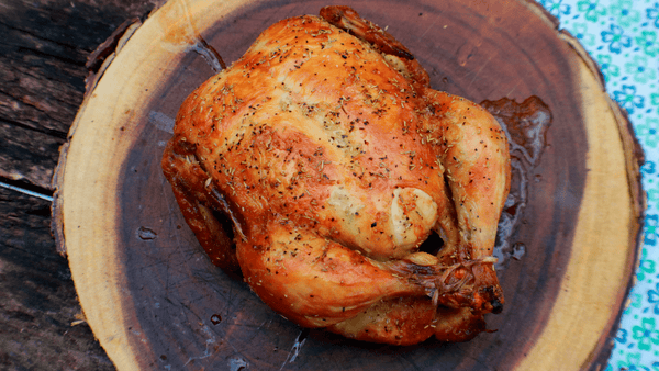 Beer-Brined Chicken in the Big Easy Oil-Less Fryer