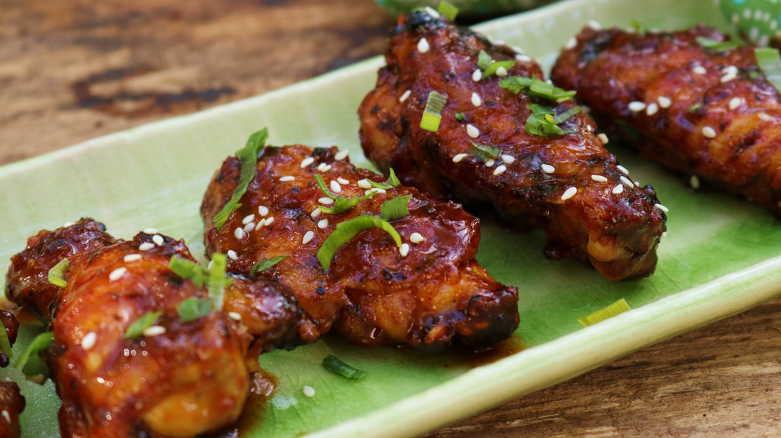 Korean Gochujang Chicken Wings Using the Sous Vide Method