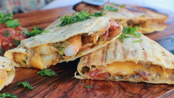 Grilled Shrimp Quesadillas