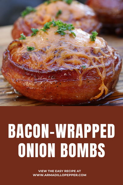Bacon Wrapped Onion Bombs